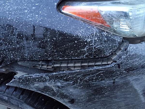"""Toyota Highlander пострадал, """"вылечили"""""""